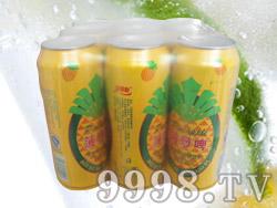 贝丽斯菠萝啤9罐500毫升