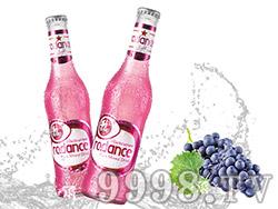 锐舞激爽紫冰预调酒4.2°(苏打酒,嗨酒)275ml 黑加仑味