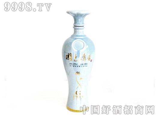 国色清香(青瓷)酒瓶