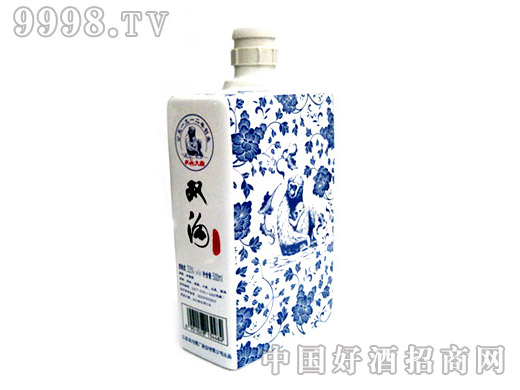 双沟酒(青花)酒瓶
