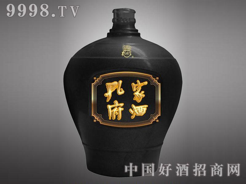 儒诚酱釉工艺瓶・孔府家酒(黑坛)