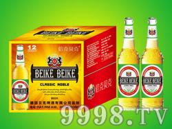 德国倍克贝克啤酒500ml黄瓶