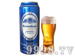 凯撒伯格啤酒500ml
