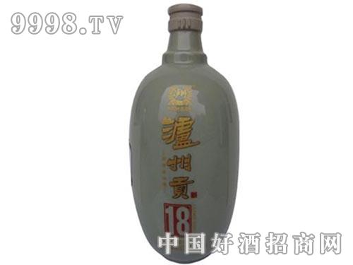泸州贡酒18酒瓶
