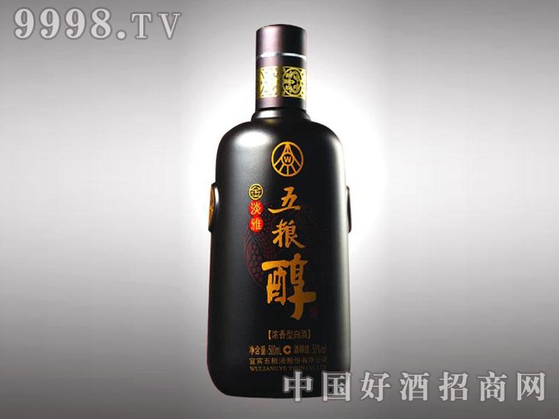 儒诚亚光釉工艺瓶・五粮醇金淡雅