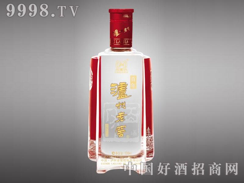 儒诚高温烤花工艺瓶・百年泸州老窖