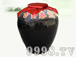 加盟店散装酒容器--仿古老酒坛200斤、300斤、500斤