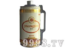 原浆白啤2L桶