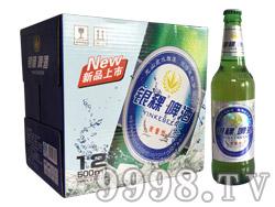 银稞麦香啤酒500ml