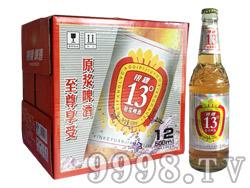 银稞原浆啤酒13°P 500ml