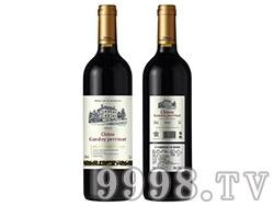 法国原瓶进口甘朵佩娜城堡干红葡萄酒