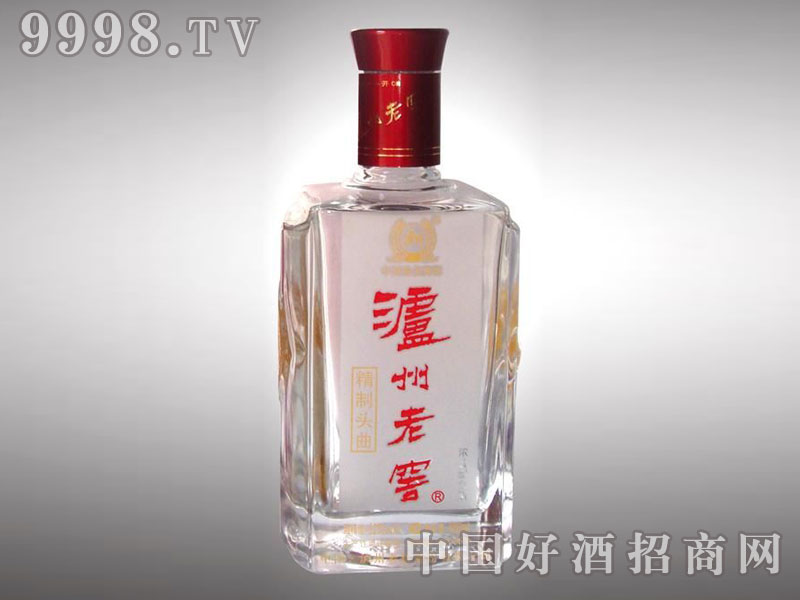 儒诚高温烤花工艺瓶・泸州老窖精制头曲