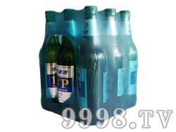 银稞原浆型啤酒10°500ml(绿瓶)塑包