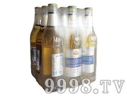 银稞清爽啤酒500ml塑包