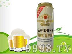 萨罗娜原浆白啤500ml