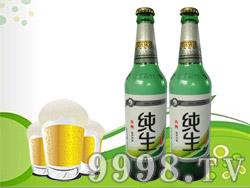 青牌纯生熟啤酒
