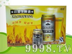超群小麦王啤酒320ml×24罐