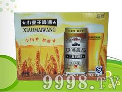 超群小麦王啤酒320ml×12罐