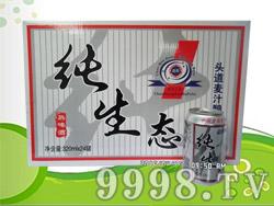 超群纯生熟啤酒320ml×24罐