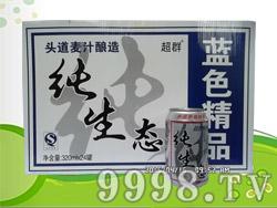 超群纯生啤酒320ml×24罐
