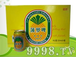 超群菠萝啤320ml×24罐