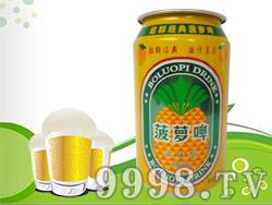 超群菠萝啤320ml