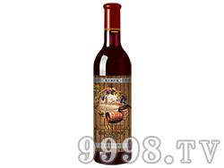 橡木桶窖藏50年老树龄葡萄酒