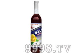格拉玛冰玫瑰鲜汁红提子酒