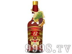解百纳高级红葡萄露酒