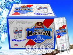 曼德堡白啤酒500ml×12罐