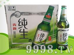 青牌纯生啤酒