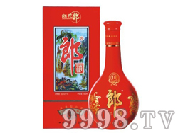 53度红花郎酒陈10