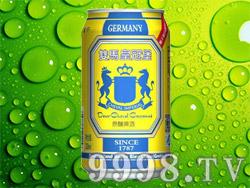 双马皇冠堡原酿啤酒330ml