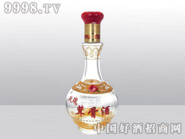 九州华泰高白料玻璃瓶玫瑰茸骨酒HT-002-500ml