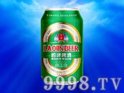 青岛崂津啤酒精品8°(易拉罐)