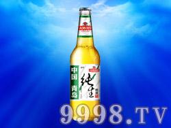 青岛崂津纯生啤酒
