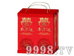 南湾湖喜酒普通卡盒礼盒