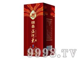 绵柔温河王普通金卡白卡(红)