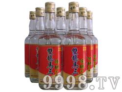 双龙马三陈酿窖酒42度450mlx12