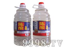 双龙马三陈酿白酒42度4Lx4