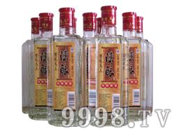 双龙马三陈酿扁瓶42度