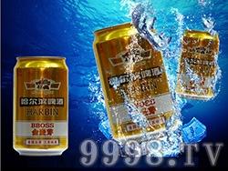 哈尔滨啤酒-金麦芽啤酒