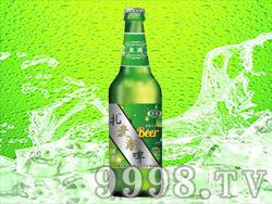 麦潮啤酒(绿瓶)
