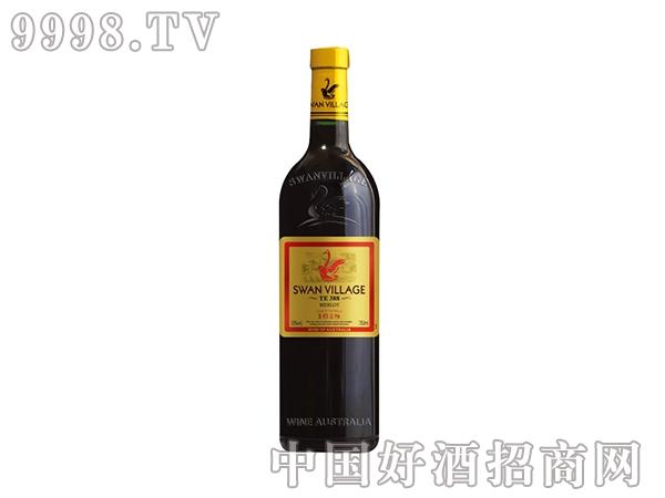 西澳·天鹅美乐干红葡萄酒