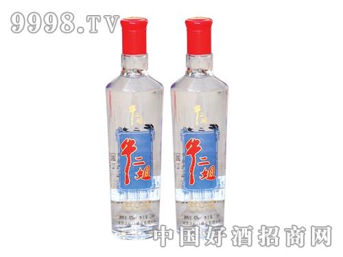 牛二姐陈酿光瓶酒42度250ML*20