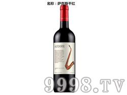 萨克斯干红葡萄酒