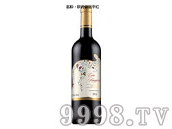欧元袋鼠干红葡萄酒
