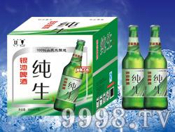 银池啤酒纯生500ml