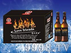 银池啤酒烈焰love330ml