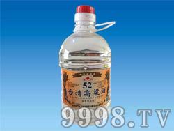 台湾高粱酒桶装2.2L
